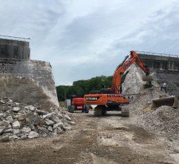 chantier demolition barrrage fréhel bretagne cotes-d'armor