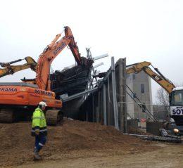 chantier pompier lorient demolition bretagne