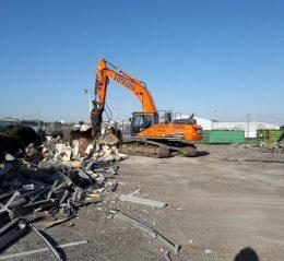 pince de tri pelleteuse sotrama lorient demolition bretagne